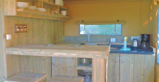 Lodge cuisine village des meuniers