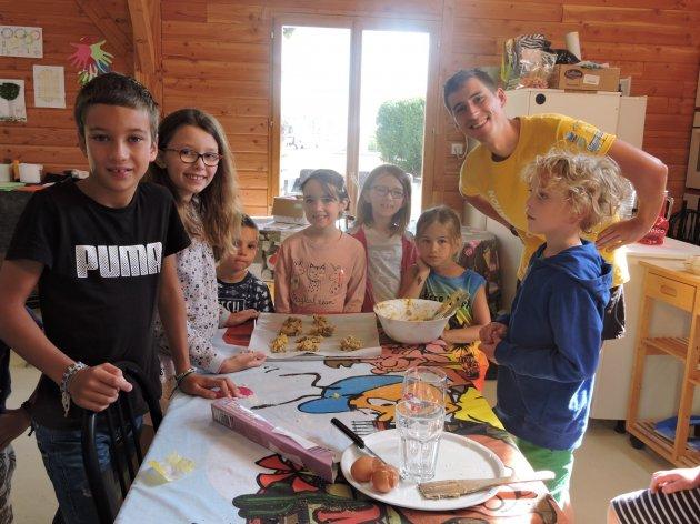Club enfant atelier cookies